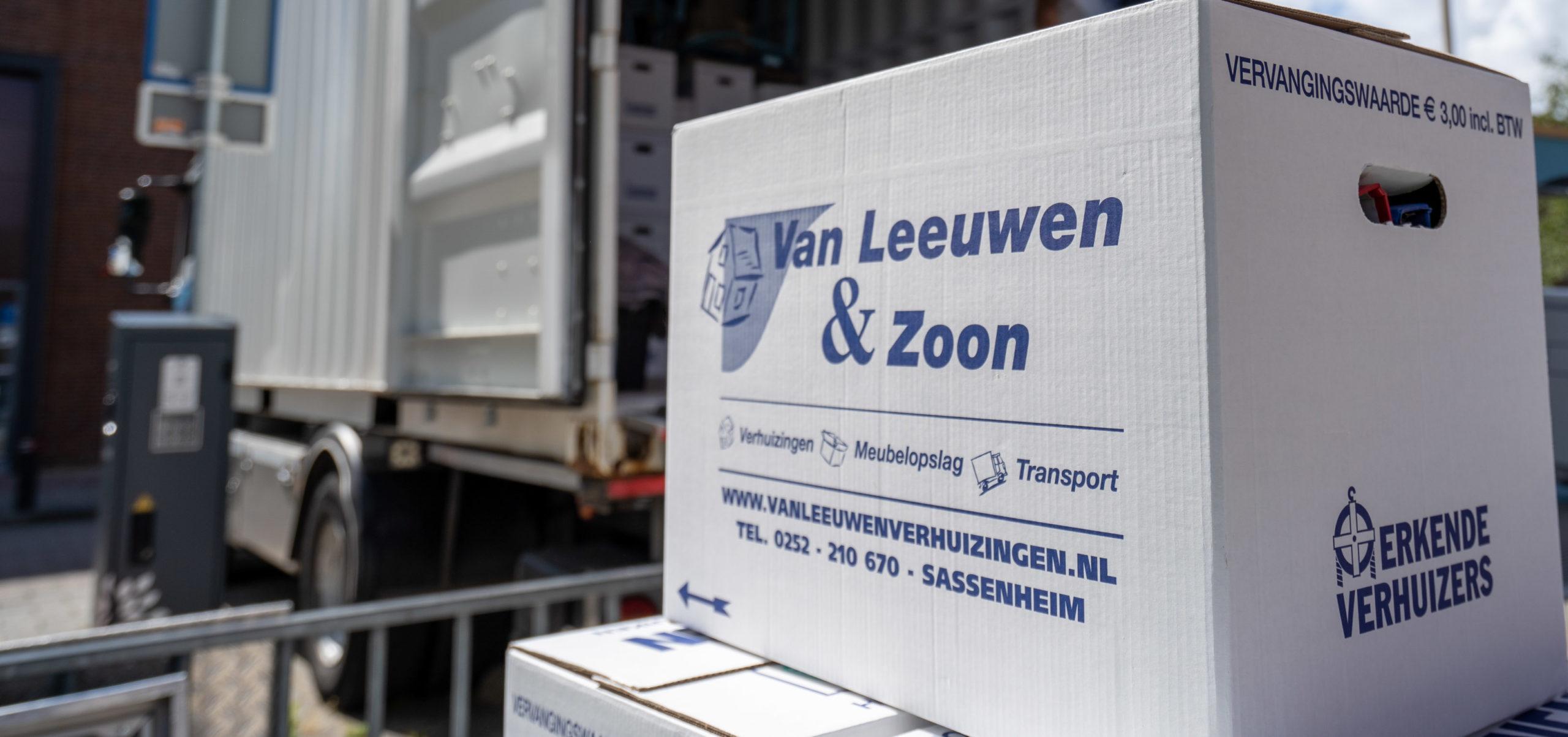 Particuliere verhuizing Van Leeuwen