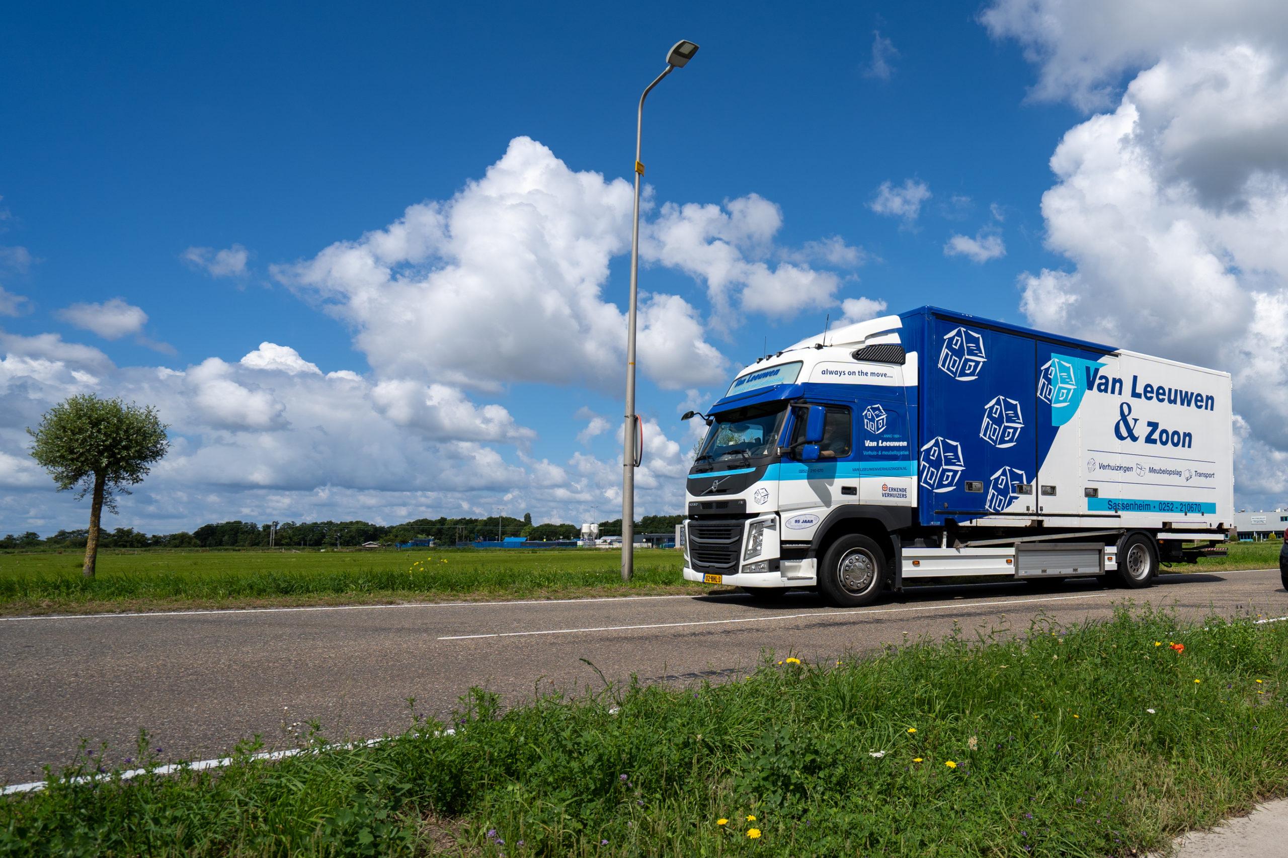 Vrachtwagen bollenstreek